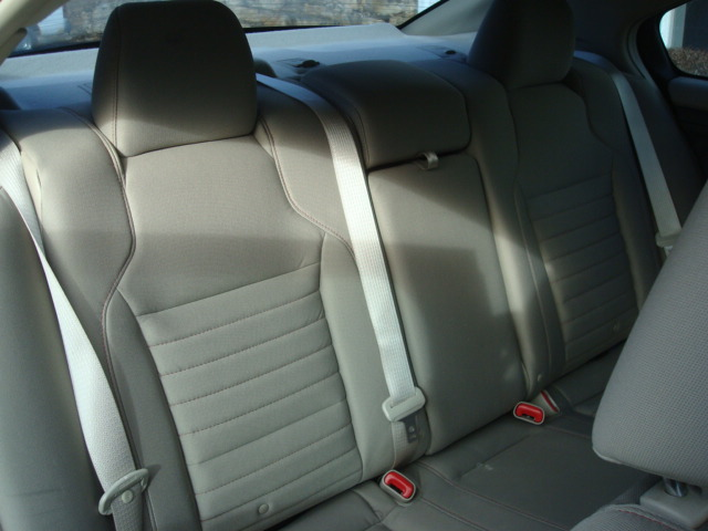 2010 Ford Taurus rear seat