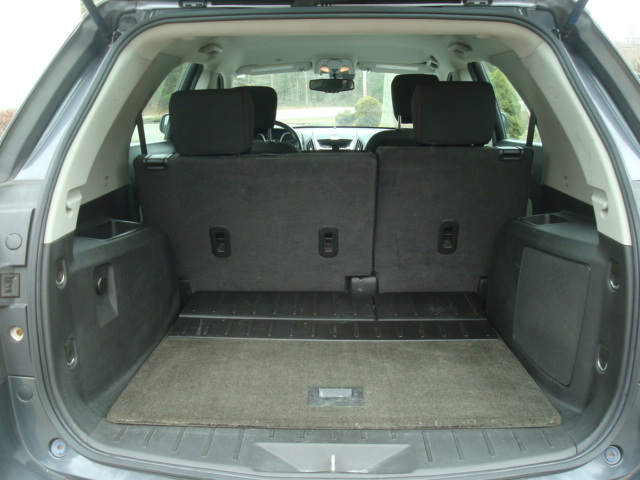 2011 Chevy Equinox tail up