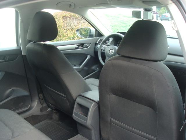 2012 VW Passat rear seats