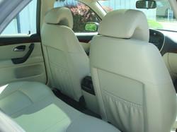 2007 Saab 9-3 rear seat