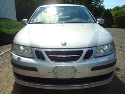 2007 Saab 9-3 hood