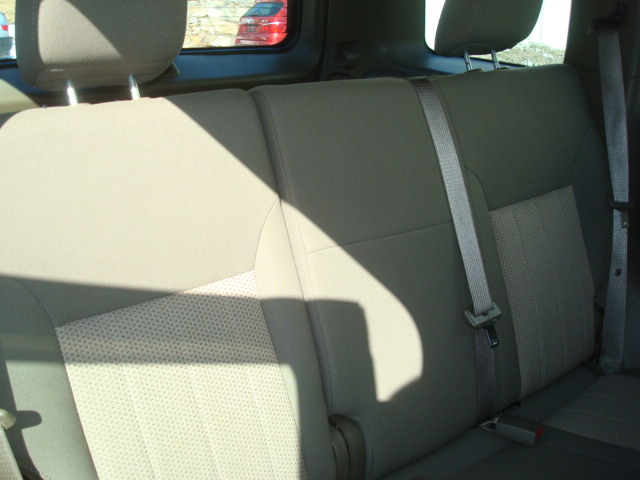 2011 Jeep rear seats