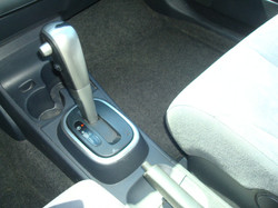 2008 Nissan Versa shift