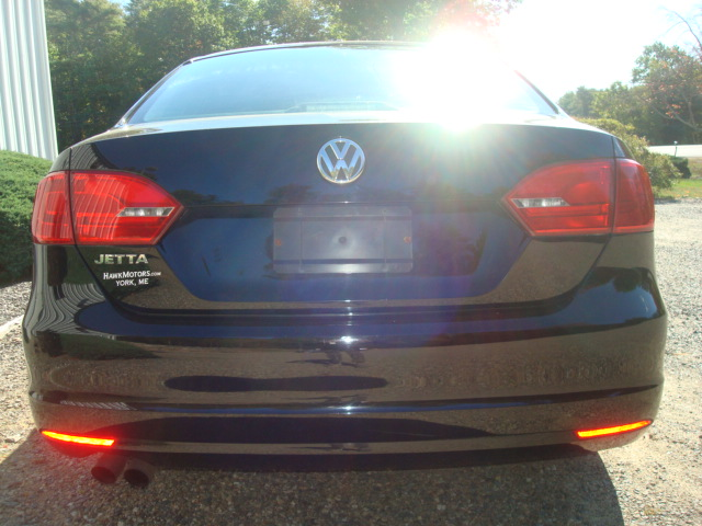 2011 VW Jetta tail