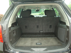 2011 Chevy Equinox tail open