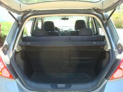 2008 Nissan Versa tail up