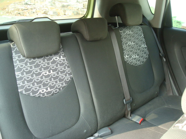 2010 Kia Soul rear seats