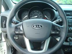 2012 Kia Rio steering