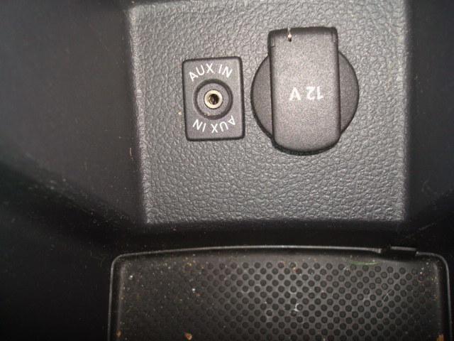 2012 VW Passat auxiliary input