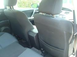 2010 Mazda 3 rear seat