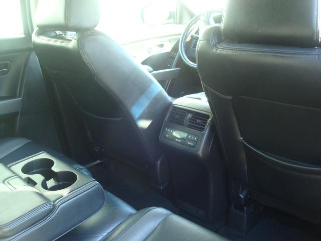 2011 Mazda CX9 rear seat