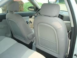 2009 Hyundai Accent rear seat 2