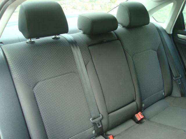 2012 VW Passat rear seats 2