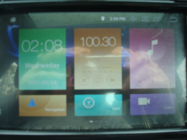 2013 VW Jetta home screen
