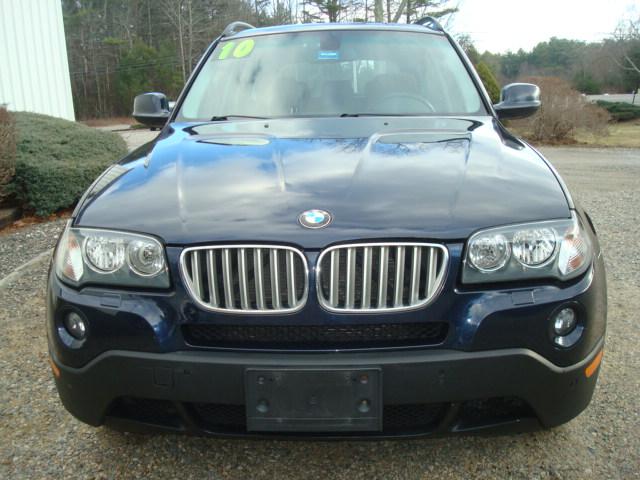 2010 BMW X3 hood
