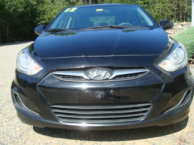 2012 Hyundai Accent hood