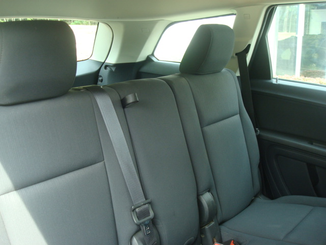 2010 Dodge Journey rear seats