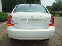 2009 Hyundai Accent tail
