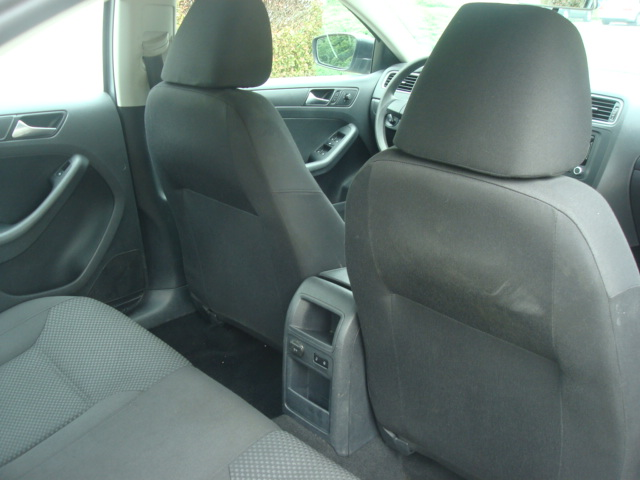 2014 VW Jetta rear seats