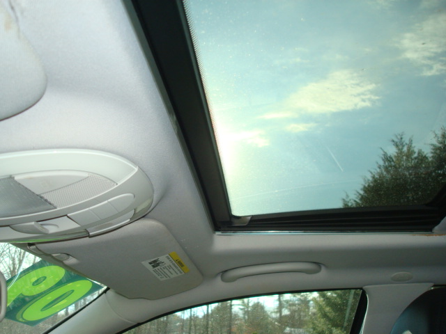 2009 Mercedes E-350 sunroof
