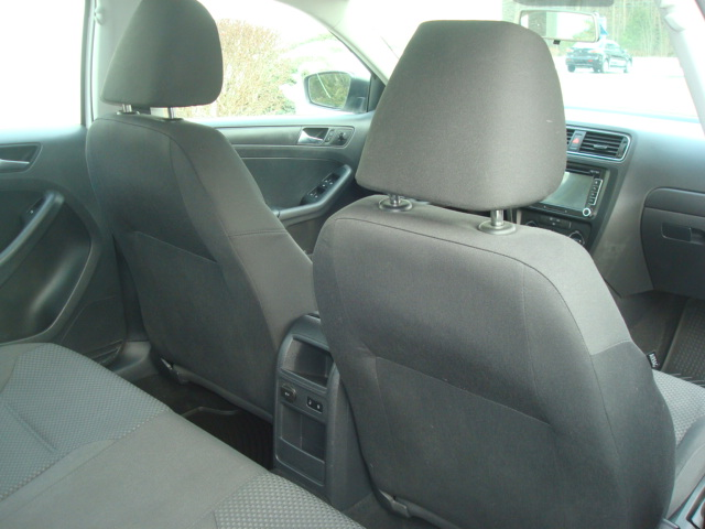 2013 VW Jetta rear seats
