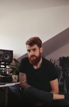 Jérémy in his studio / Dune Audio Productions