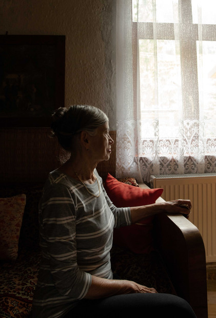 Grandmother by the window