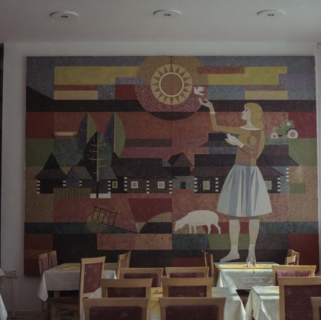 A Hotel Mural