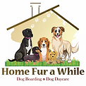 Home fur a While logo
