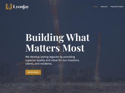 LyonJay Website