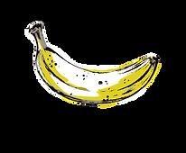 illustrated banana