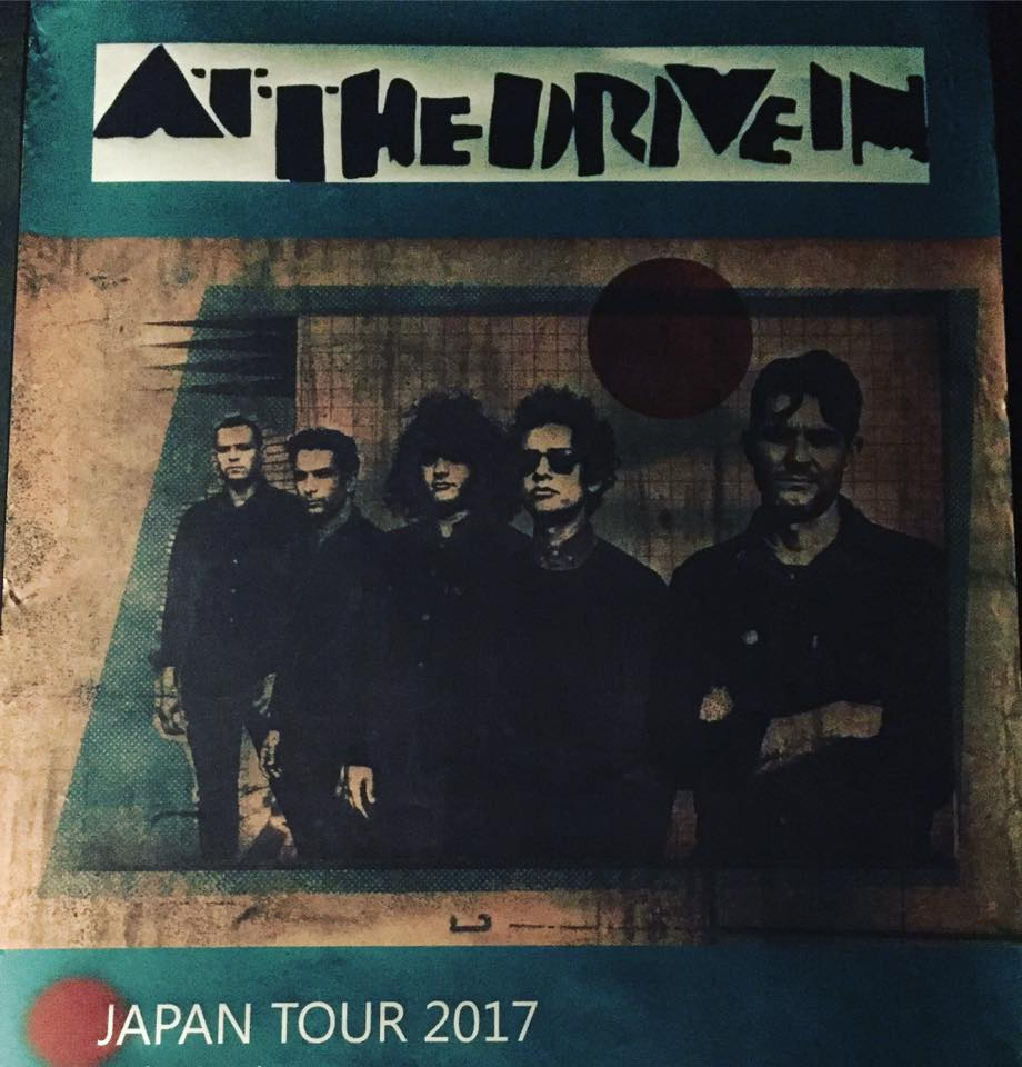 AT THE DRIVE IN JAPAN TOUR 2017