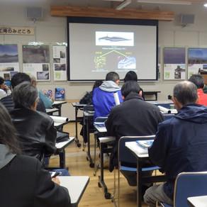 錦江湾学習会   NPO法人くすの木自然館・重富海岸自然ふれあい館なぎさミュージアム