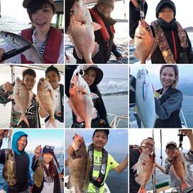 船からの魚釣り 龍神丸(錦江湾若船頭の会代表)