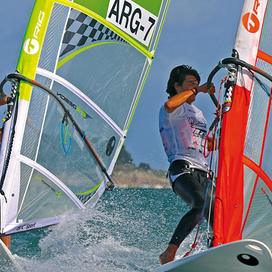 ウィンドサーフィンとSUPの体験      錦江湾マリン