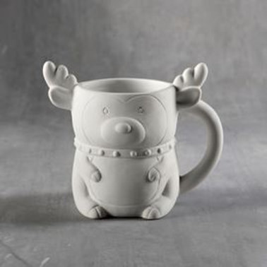 Reindeer Mug  Case of 6