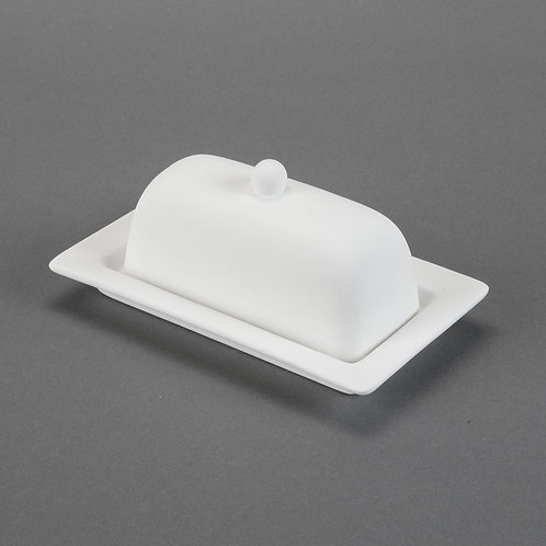 Rimmed Butter Dish  Case of 6
