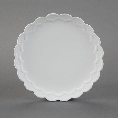 Scalloped Dinner Plate  Case of 12