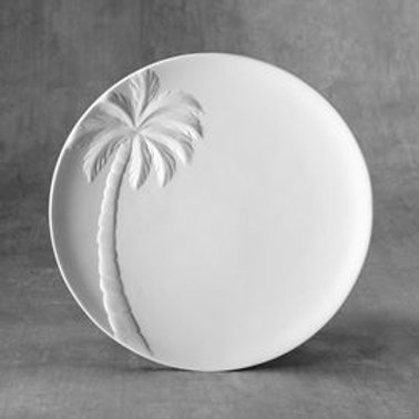 Palm Tree Plate  Case of 6