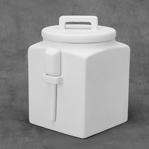 Kitchen Cannister W/Spoon  Case of 4