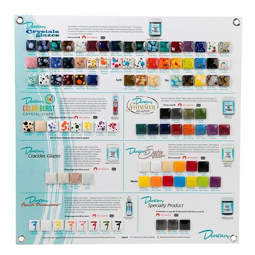 Glaze Tile Chart