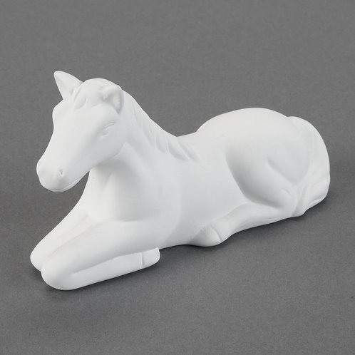 Cute Laying Horse   Case of 12