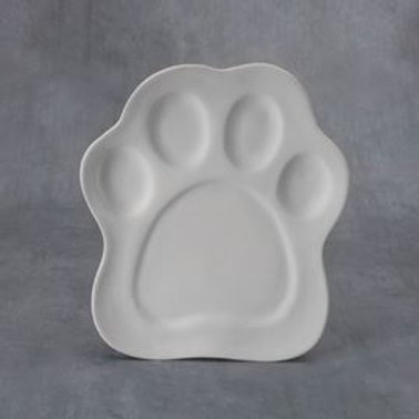 Paw Print Plate  Case of 6