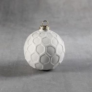 Hexagon Round Ornament  Case of 12