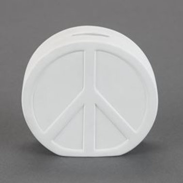 Peace Sign Bank  Case of 6