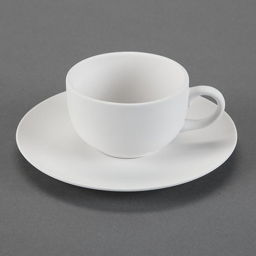 Teacup and Saucer  Case of 6