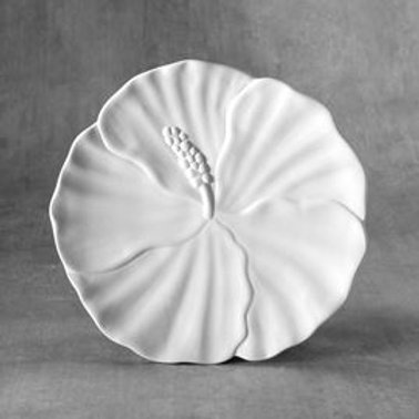 Hibiscus Plate  Case of 6