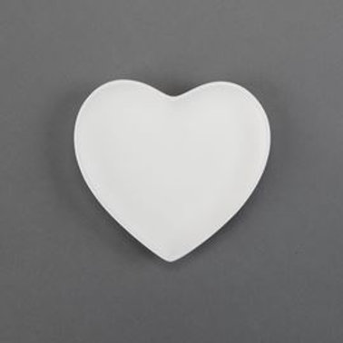 Small Heart Plate  Case of 12