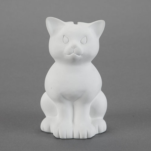 Sitting Kitty Bank  Case of 6