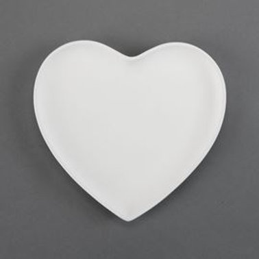 Large Heart Plate  Case of 12